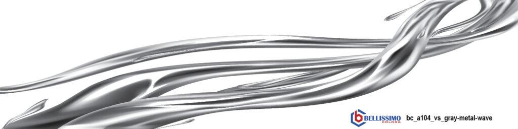 Gray Metal Wave