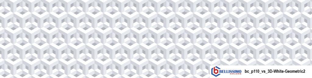 White Geometric 3