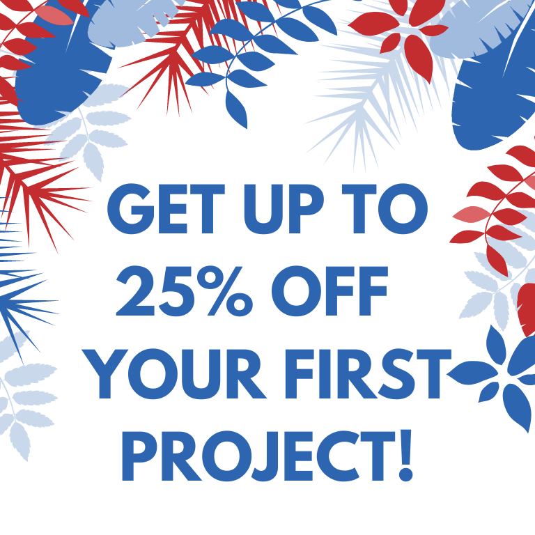 25% off customer project