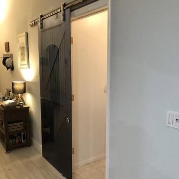 Boca Raton FL interior wood door after