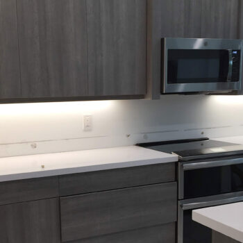Delray Beach FL kitchen backsplash before