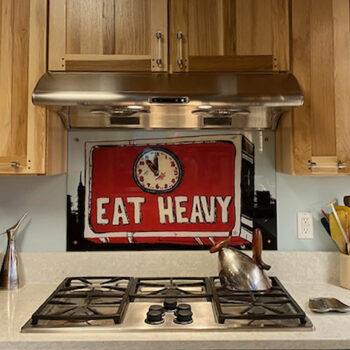 After Kitchen Backsplash New York